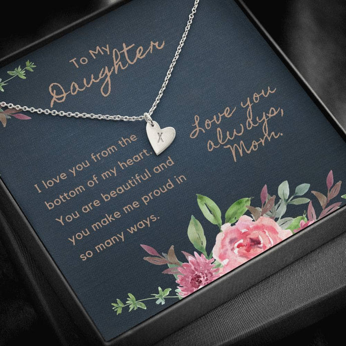 To My Daughter - Personalize Necklace
