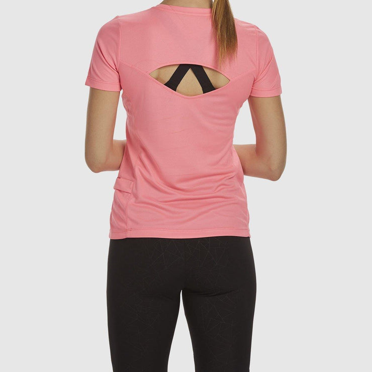 Cut Out Tee - Pink
