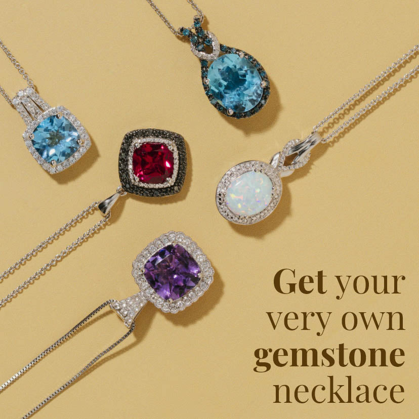 Get Your Very Own Gemstone Necklace