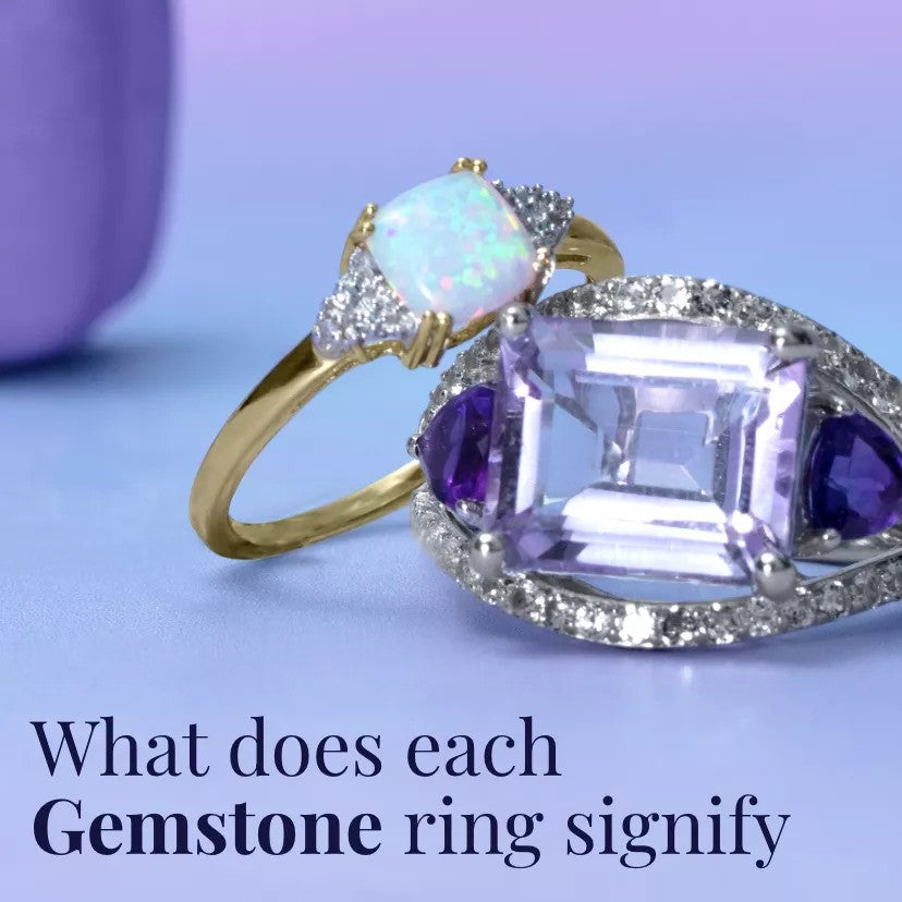 What Does Each Gemstone Ring Signify