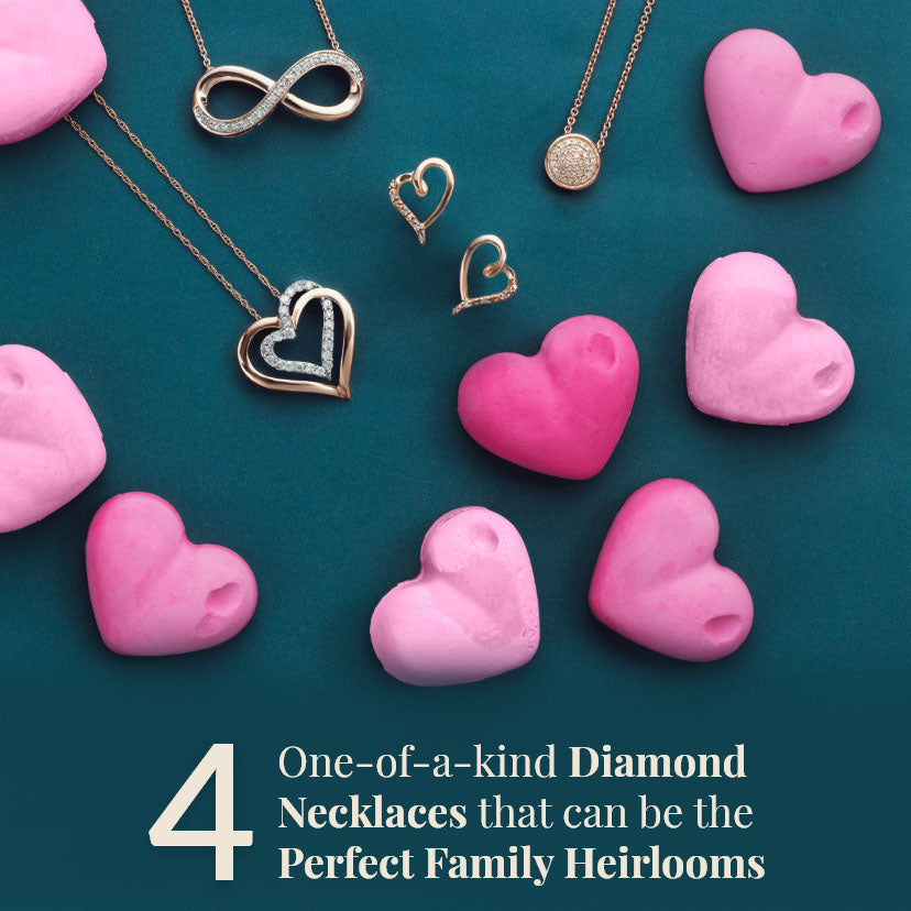 One-of a Kind Diamond Necklaces