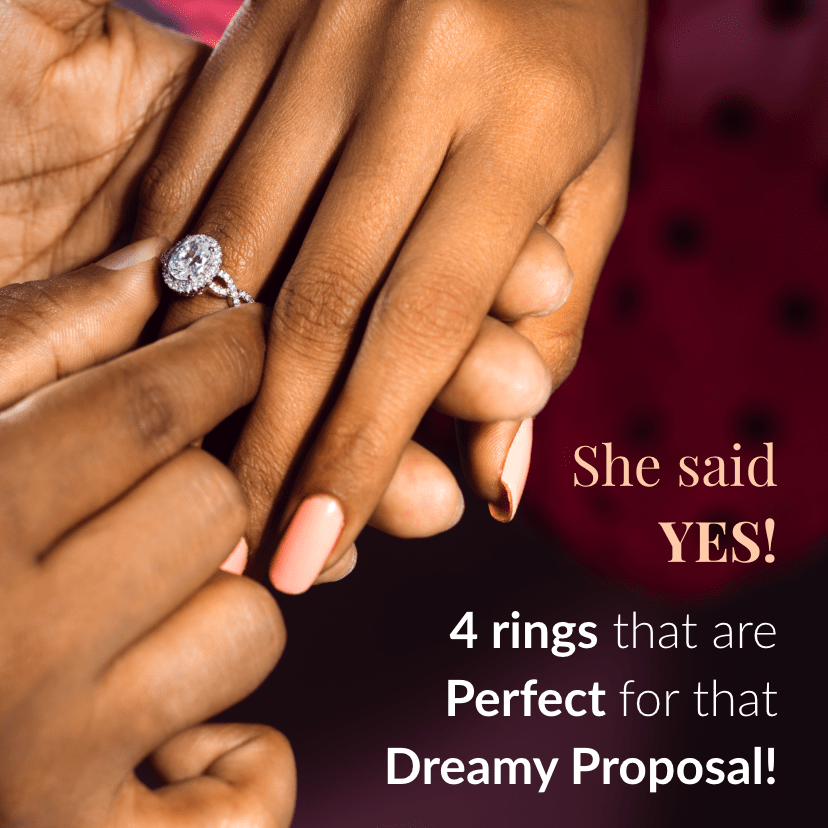 She Said Yes! 4 Rings That Are Perfect for That Dreamy Proposal