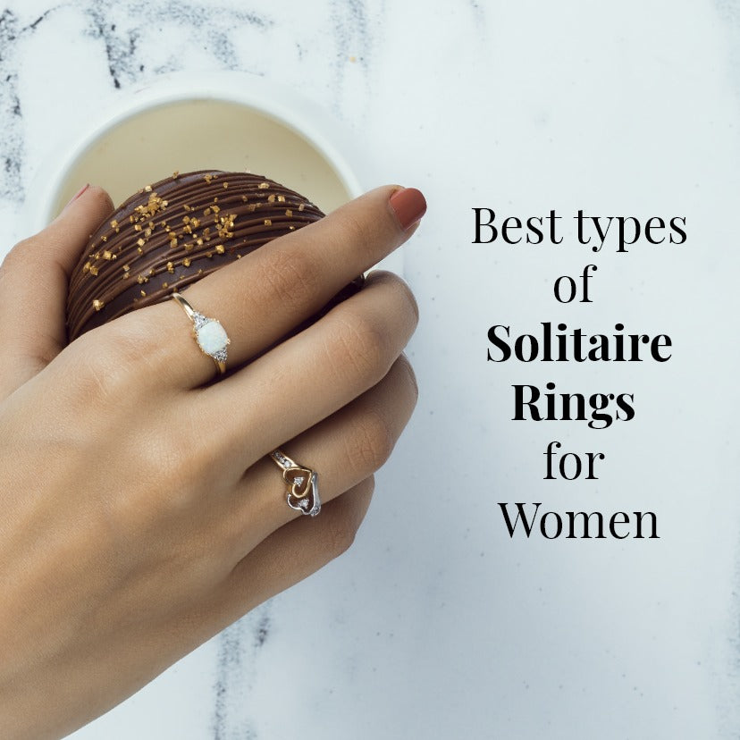 Solitaire Rings for Women