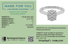 Load image into Gallery viewer, Clustered Glow Lab-Grown Diamond Ring in 14kt Gold with 1/2 CTTW