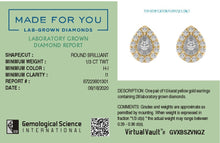 Load image into Gallery viewer, Pear-aglow Lab-Grown Diamond Stud Earrings in 10kt Gold with 1/3 CTTW