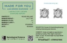 Load image into Gallery viewer, Glizmo Lab-Grown Diamond Studs in 10kt Gold with 1/5 CTTW