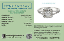 Load image into Gallery viewer, Pleasure Lab-Grown Diamond Ring in 14K Gold with 1/2 CTTW