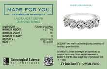 Load image into Gallery viewer, Sparkling Weaves Lab-Grown Diamond Ring  in 14K Gold with 1.0 CTTW