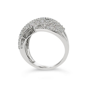 Made for You 14K White Gold 1 cttw Lab-Grown Diamond Ring