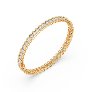 Made for You 14K Yellow Gold 1.0 CTTW Lab-Grown Diamond Bracelet