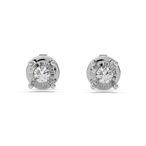 Glizmo Lab-Grown Diamond Studs in 10kt Gold with 1/10 CTTW