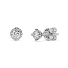 Load image into Gallery viewer, Starlight Lab-Grown Diamond Studs in 10kt Gold with 1/4 CTTW