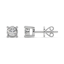 Load image into Gallery viewer, Cosmo Lab-Grown Diamond Stud Earrings in 10kt Gold with 1/3 CTTW