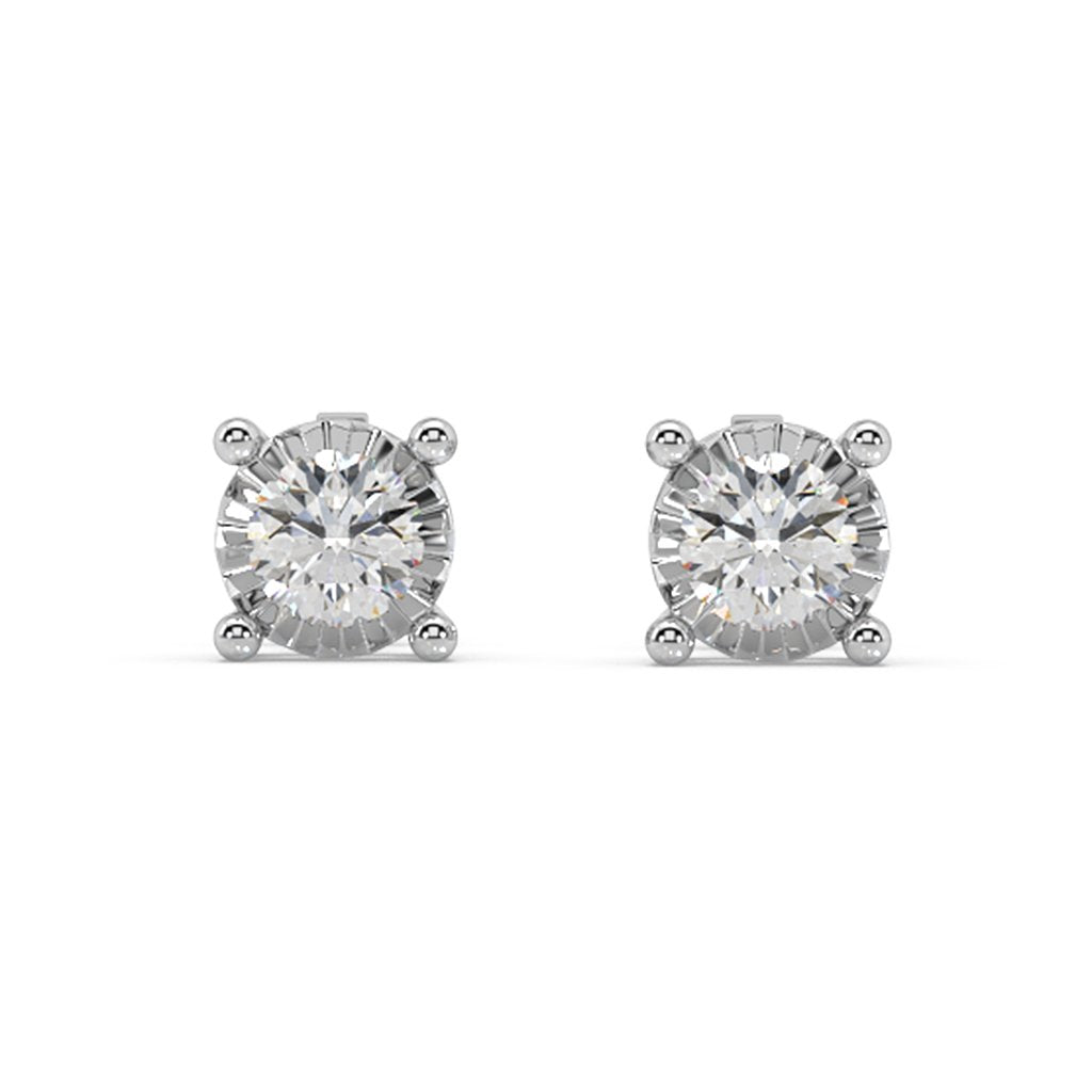 Cosmo Diamond Stud Earrings in 10kt Gold with 1/3 CTTW