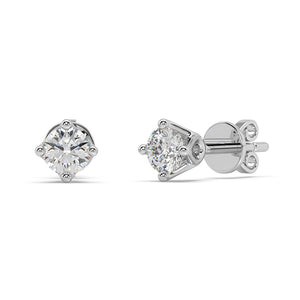 Starlight Diamond Studs in 14kt Gold with 1/2 CTTW