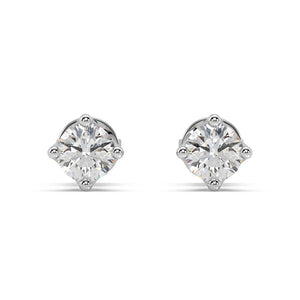 Starlight Lab-Grown Diamond Studs in 14kt Gold with 1/2 CTTW