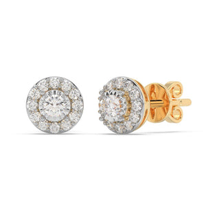 Made for You 14K Yellow Gold 1/4 cttw Lab-Grown Diamond Earrings