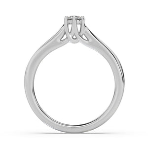 Warm Embrace Diamond Ring  in 14kt Gold with 1/5 CTTW