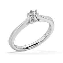 Load image into Gallery viewer, Warm Embrace Diamond Ring  in 14kt Gold with 1/5 CTTW