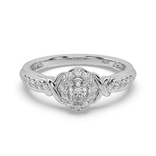 Load image into Gallery viewer, Vintage Charm Diamond Ring in 14kt Gold with 3/8 CTTW