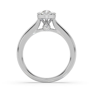 Marquise Clustered Diamond Ring in 14kt Gold with 1/2 CTTW