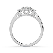 Load image into Gallery viewer, Classic Trio Lab-Grown Diamond Ring in 14kt Gold with 1/3 CTTW