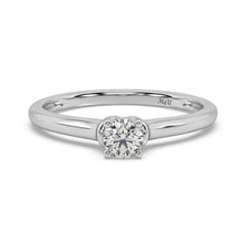 Load image into Gallery viewer, Vintage Glamour Diamond Ring in 14kt Gold with 1/5 CTTW