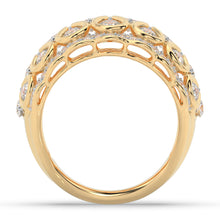 Load image into Gallery viewer, Made for You 14K Yellow Gold 2 cttw Lab-Grown Diamond Ring
