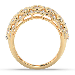Made for You 14K Yellow Gold 2 cttw Lab-Grown Diamond Ring