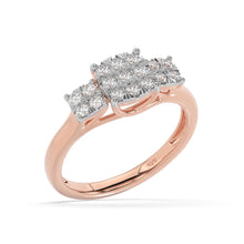 Load image into Gallery viewer, Made for You 14K Rose Gold 1/2 cttw Lab-Grown Diamond Ring