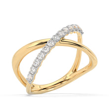 Load image into Gallery viewer, Made for You 14K Yellow Gold 1/2 cttw Lab-Grown Diamond Ring