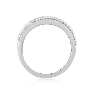 Perpeta Lab-Grown Diamond Ring in 14K Gold with 1/2 cttw