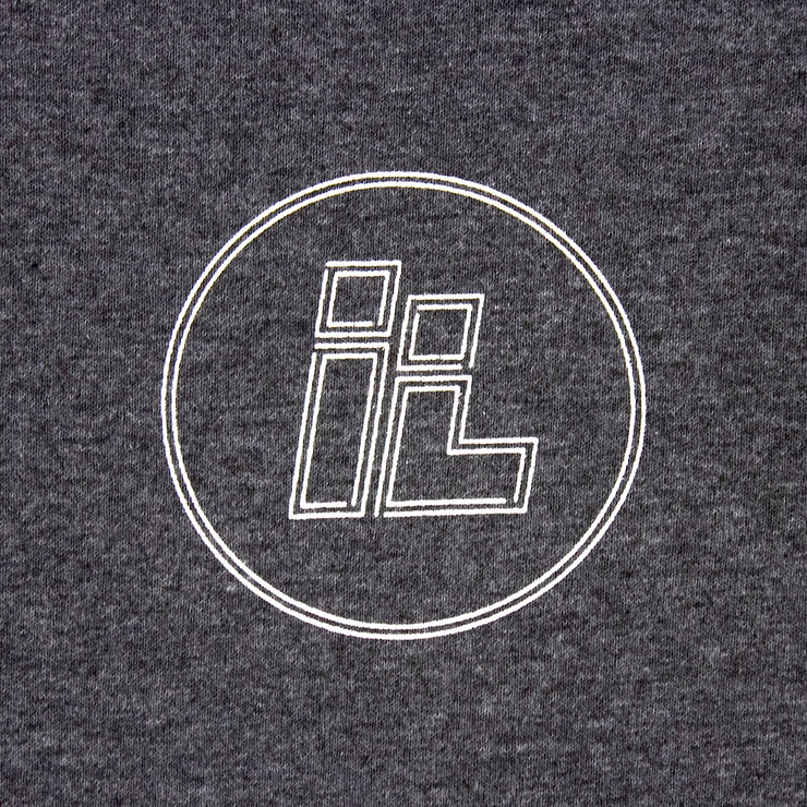 IL Dot Logo (Grey / White)