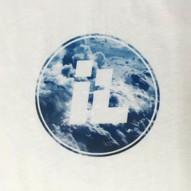 IL Cloud Dot Logo (White)