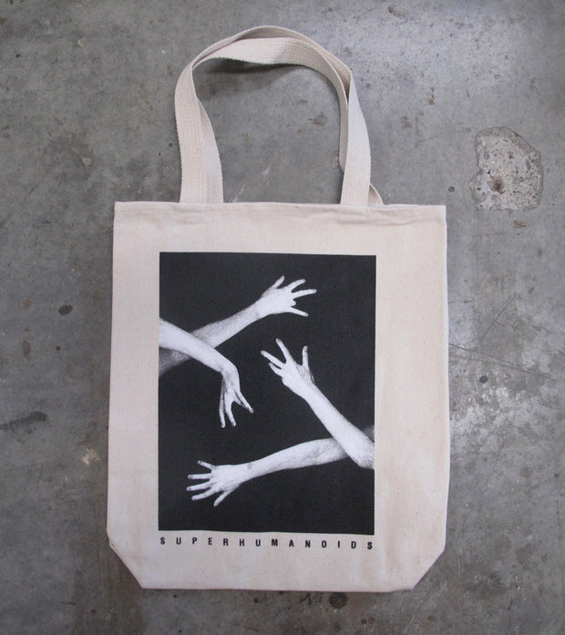 Hands Tote (White)