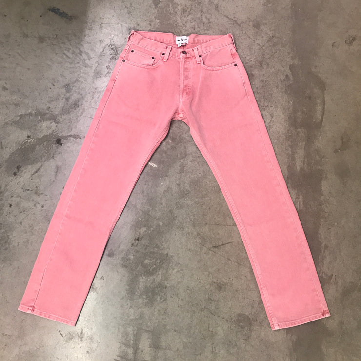SAVAGE TIMES DENIM JEANS (Pink)