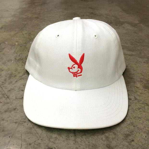 HEK x HUF Hat (White/Red)