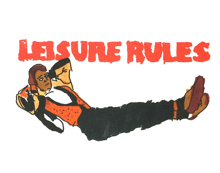 IL x Yung Lenox: Leisure Rules Tee