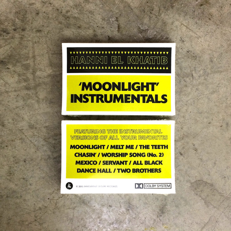 Moonlight Instrumentals Cassette Tape