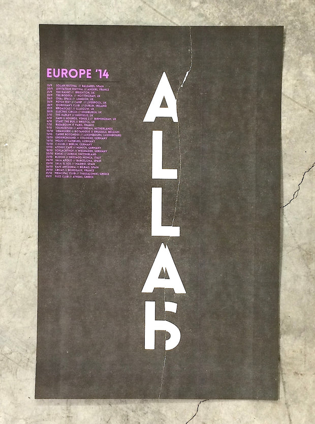 Europe '14 Poster