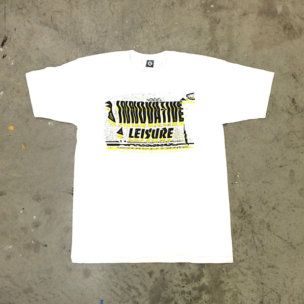 IL Trippy Tee (White/Yellow & Black)