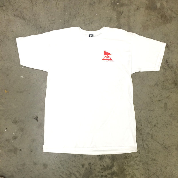 IL Flamingo Tee (White)