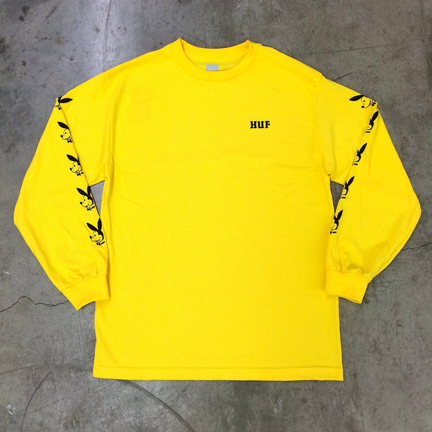 HEK x HUF Long Sleeve (Yellow)