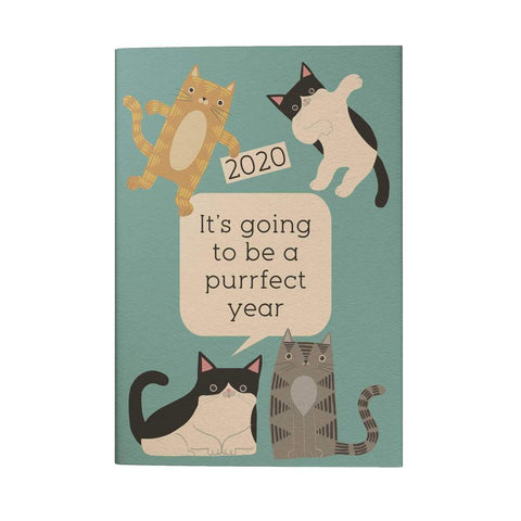 It's Going to be A Purrfect Year 2020 Pocket Planner