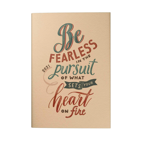 [Pre-Order] Be Fearless 2021 Pocket Planner