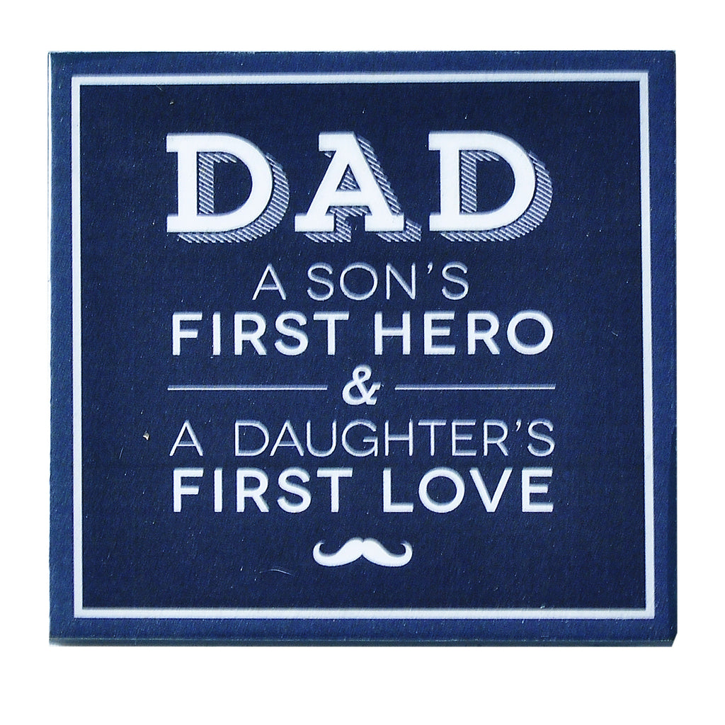 Dad First Hero Magnet
