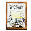 World's Greatest Engineer (Male) Plaque