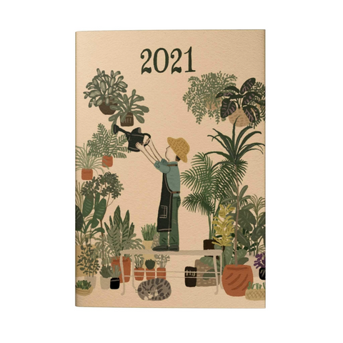 Gardening House Plants 2021 Pocket Planner