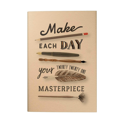 Make Each Day Your Masterpiece 2021 Pocket Planner