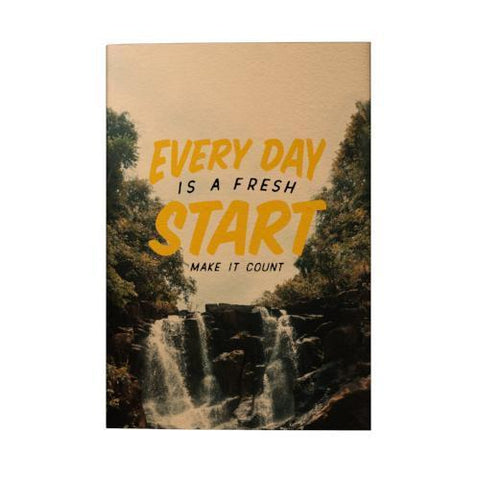 Everyday is a Fresh Start 2019 Pocket Planner